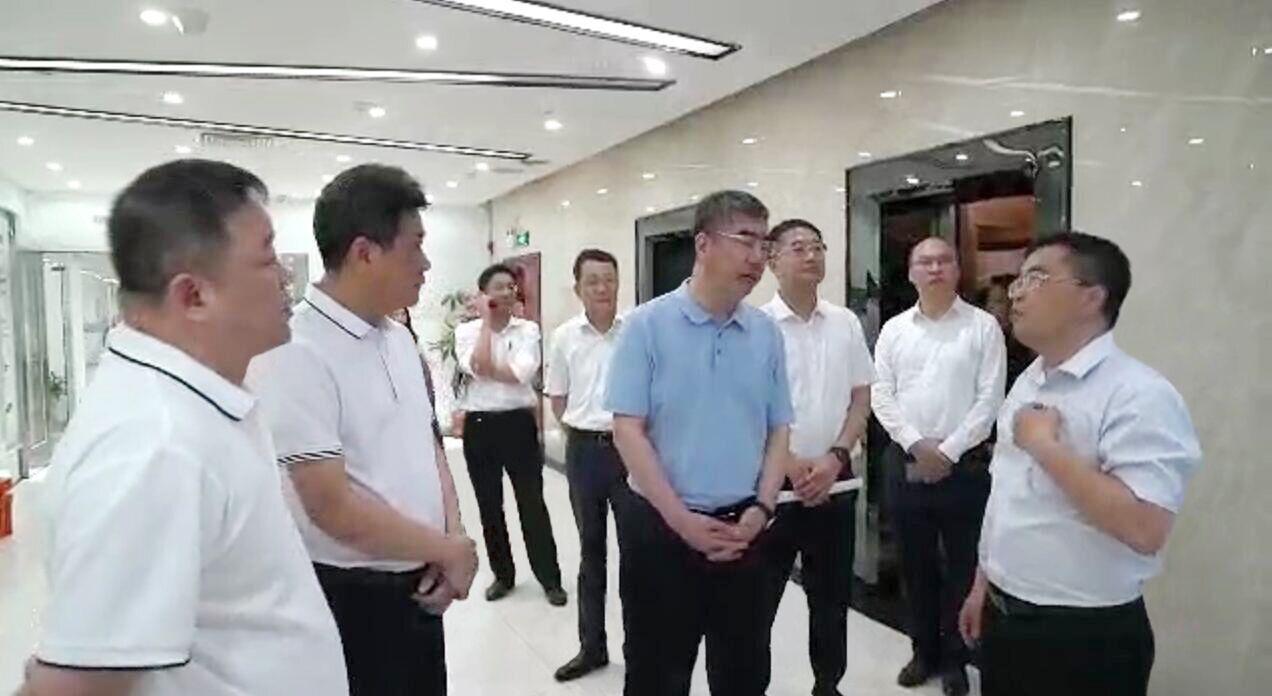 汕头市委领导莅临塑米科技(广东)有限公司开展贸易高质量发展专题调研